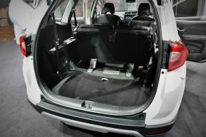 Honda BR-V Trunk Space, Malaysia 2017