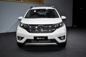 Honda BR-V Front, Malaysia 2017