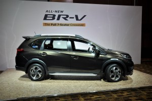 Honda BR-V E Variant with Modulo Kit, Malaysia 2017