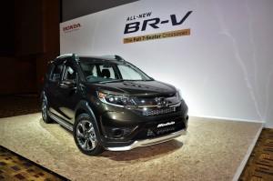 Honda BR-V E Variant Modulo Kit, Malaysia 2017