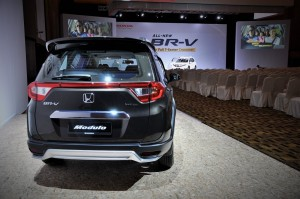 Honda BR-V E Variant with Modulo Kit Rear View Malaysia 2017