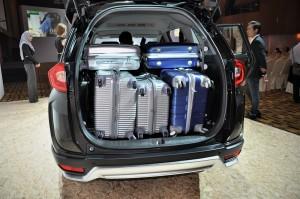 Honda BR-V E Variant Trunk Space, Malaysia 2017