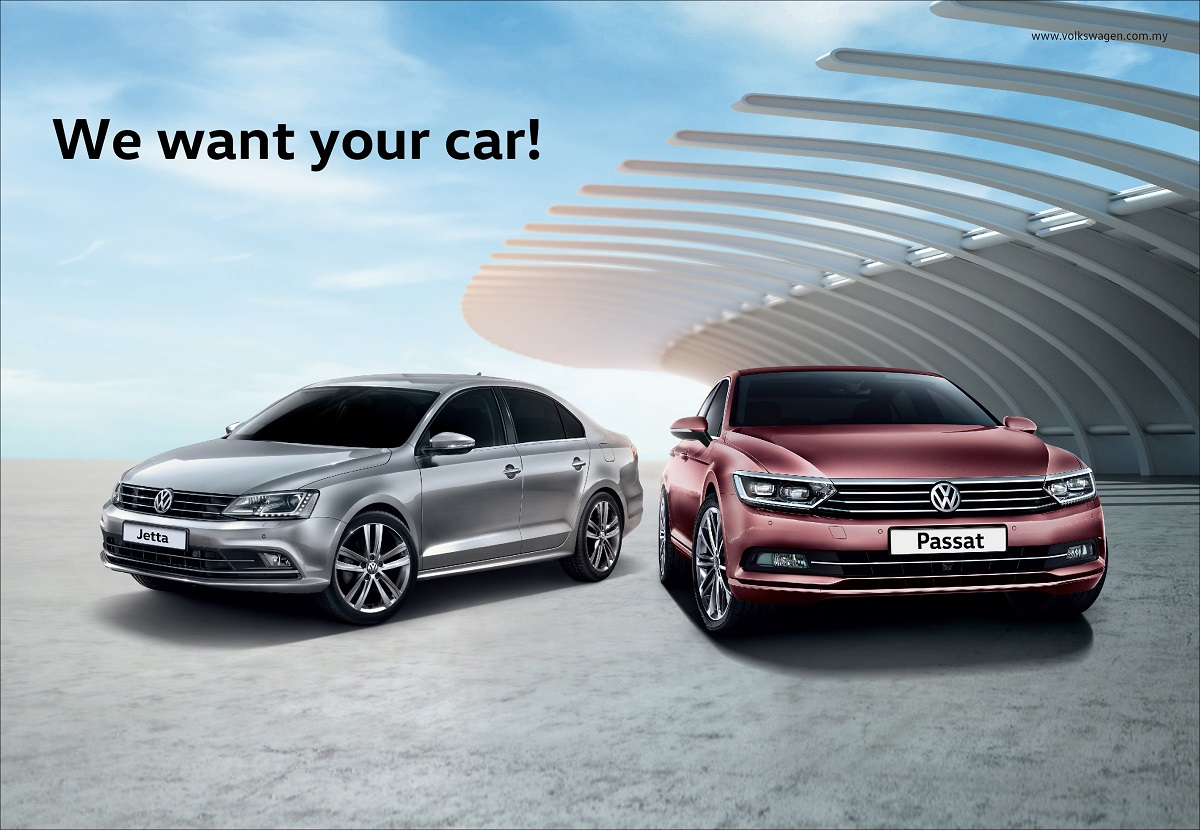 volkswagen offers attractive trade in program for new jetta and passat. Black Bedroom Furniture Sets. Home Design Ideas