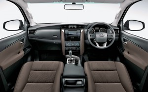 2016 Toyota Fortuner Dashboard - 2.4 VRZ - Copy