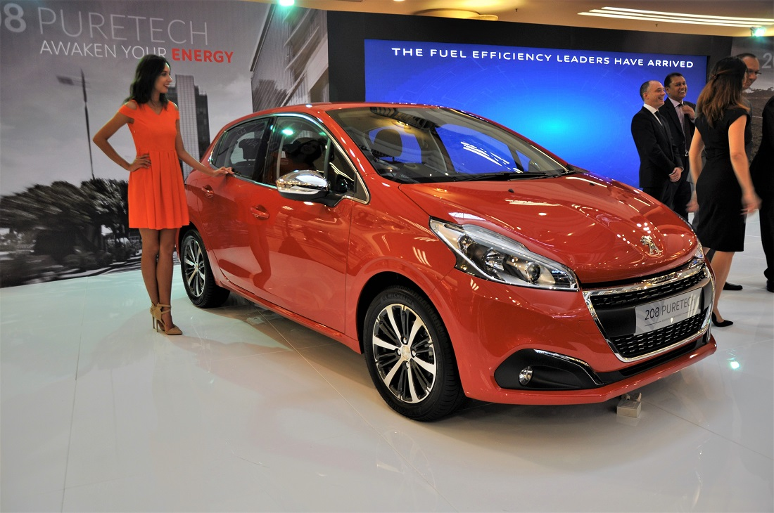 peugeot 208 and 2008 with puretech engines launched. Black Bedroom Furniture Sets. Home Design Ideas