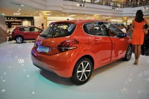 Peugeot 208 Puretech 2017 Rear View Malaysia