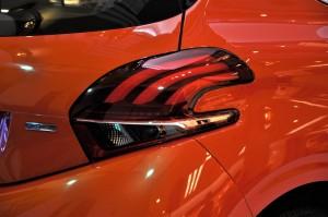 Peugeot 208 Puretech 2017 Rear Lamp, Malaysia