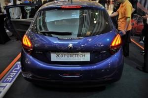 Peugeot 208 Puretech Rear, 2017 1 Utama New Wing Malaysia