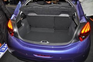 Peugeot 208 Puretech Rear Cargo Space 2017 Malaysia
