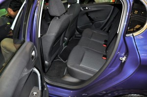 Peugeot 208 Puretech Rear Seats Malaysia 2017