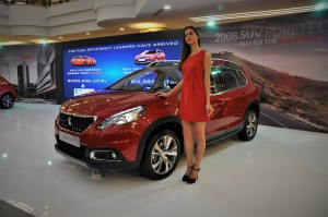 Peugeot 2008 Puretech Ultimate Red Malaysia Launch 2017 1 Utama Shopping Centre New WIng