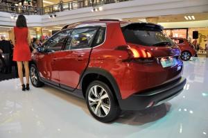 Peugeot 2008 Puretech Rear View Malaysia 2017