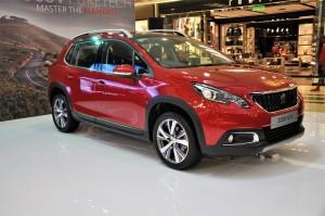 Peugeot 2008 Puretech Front Three Quarter Malaysia 2017