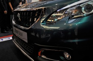 Peugeot 2008 Puretech Front Grille And Bumper Malaysia 2017