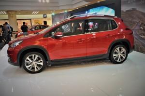 Peugeot 2008 Puretech Side View Malaysia 2017
