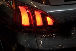 Peugeot 2008 Puretech Rear Lamp Malaysia 2017