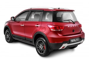 Haval H1 2017 Rear View Malaysia