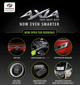 New Improved Perodua Axia Open For Booking