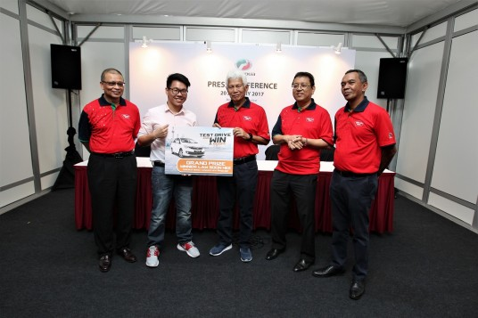 Penang Man Wins A Perodua Bezza
