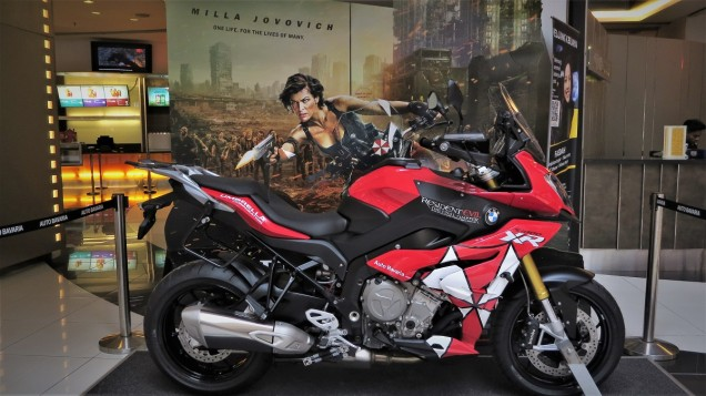 Watch Resident Evil 6 And You Could Win BMW Motorrad Merchandise