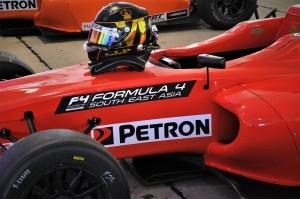 Petron Malaysia, Meritus GP race car, Formula 4 South East Asia, Blaze 100 & Blaze Racing