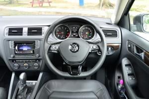 Driver's cockpit.