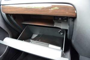 Glove compartment is cooled - great feature.