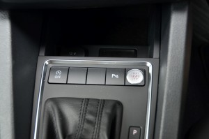 Start-Stop button on centre console