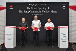 Launch of 3S Commercial Vehicle Centre Klang, FUSO Mercedes-Benz Commercial Vehicles - Hap Seng Commercial Vehicles