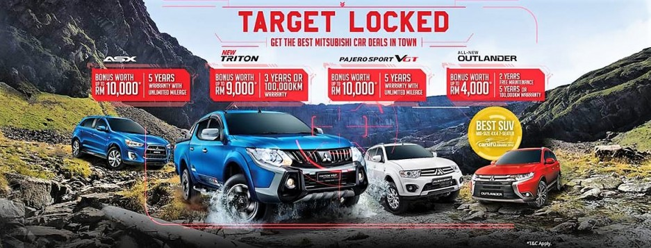 Mitsubishi Motors Malaysia Offers Attractive Cash Bonus