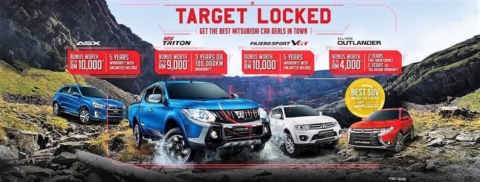 Mitsubishi Motors Malaysia Offers Attractive Cash Bonus