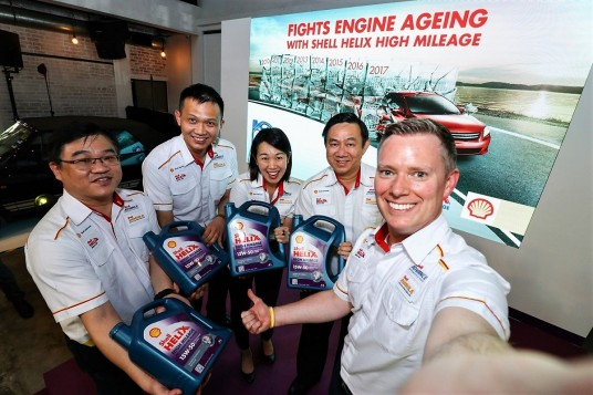 Shell Malaysia Launches Helix For High Mileage Engines