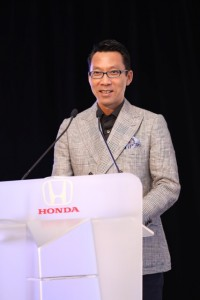 Honda Malaysia Managing Director and CEO Mr Katsuto Hayashi