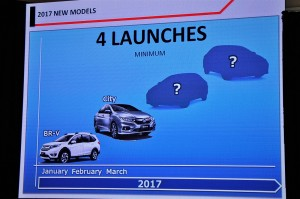 Honda Malaysia 2017 Planned Launches