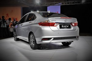 Honda City 2017 Preview Malaysia, Rear Three Quarter