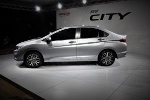 Honda City 2017 Preview Malaysia Side View