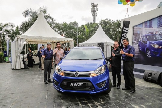 Proton Launches Iriz in Indonesia