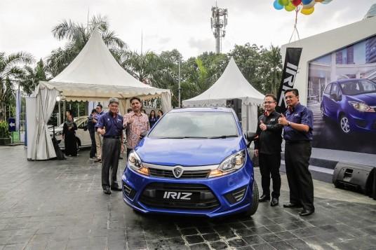Proton Launches Iriz in Indonesia
