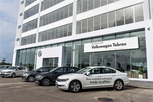Volkswagen Launches 3S Center In Johor Bahru