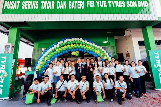 Michelin Malaysia Tyreplus Store Opens In Sibu, Sarawak