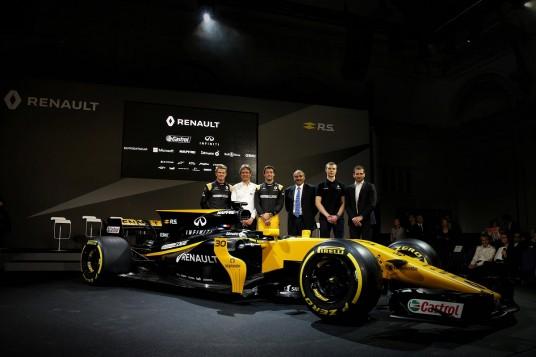 Team Renault Sport Formula One Introduces Its 2017 Car