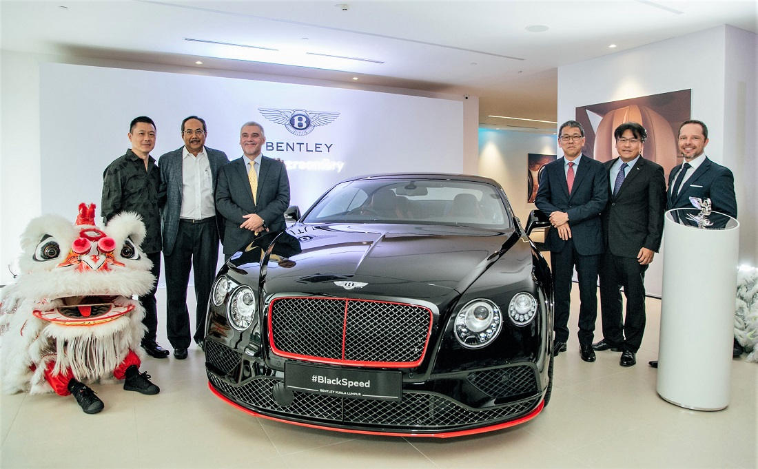 2017 Bentley Continental Gt W12 >> Wearnes Quest Launches Flagship Bentley Showroom In KL - Autoworld.com.my