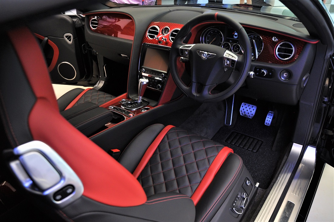 Bentley Continental Gt Speed Black Speed By Mulliner Limited