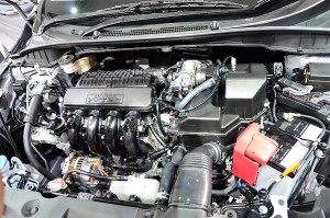 1.5 litre Honda i-VTEC engine produces 120 PS