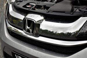 Honda BR-V Chrome Grille Malaysia Test Drive
