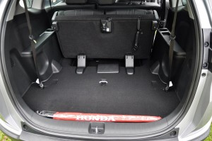 Honda BR-V Cargo Space 3rd Row Folded, Malaysia