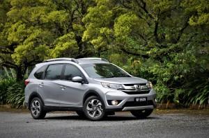 Honda BR-V V Grade Front Three Quarter Malaysia Test Drive