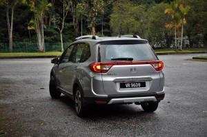 Honda BR-V Rear Malaysia