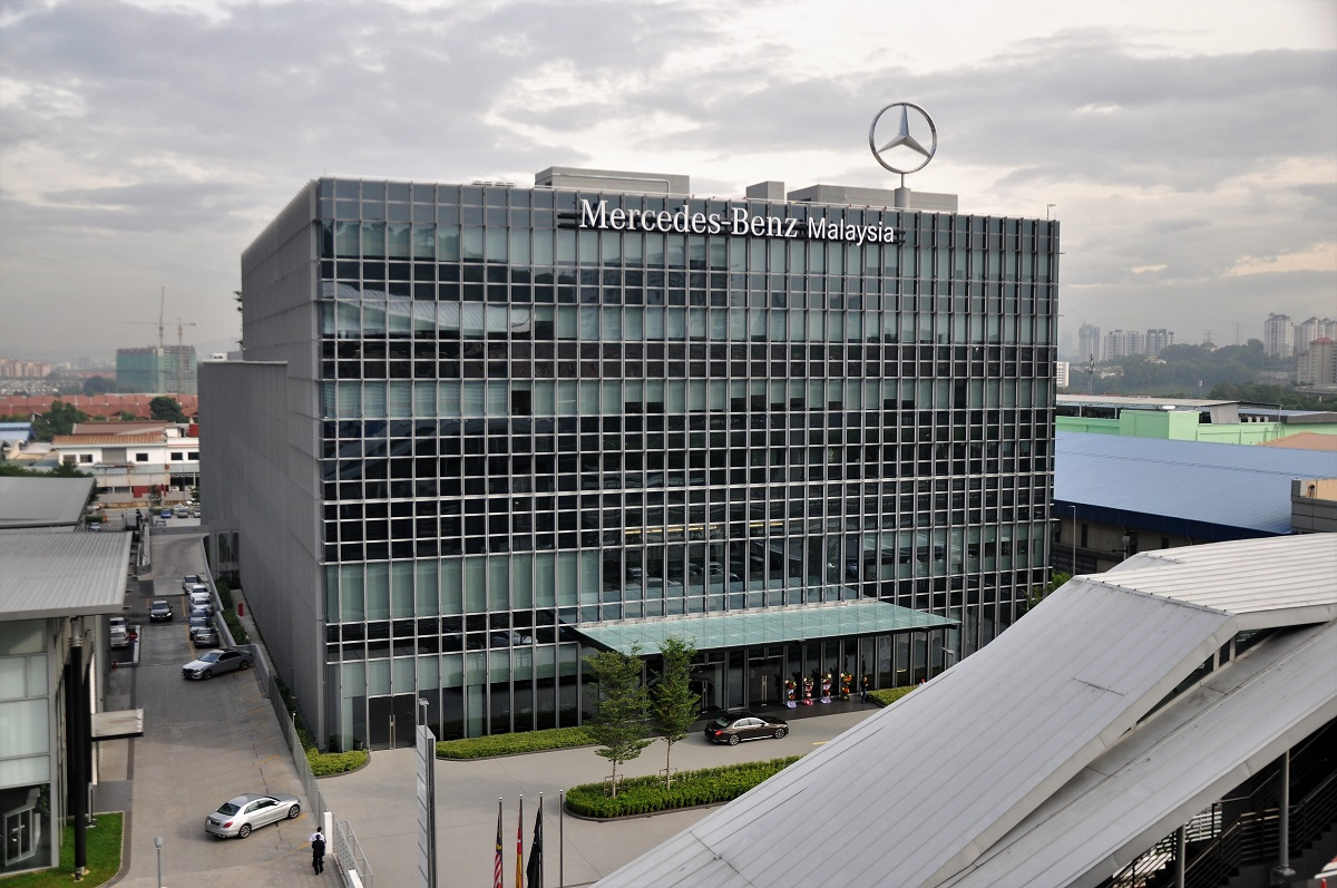 Mercedes benz commits to malaysia with new hq training for Where is mercedes benz headquarters