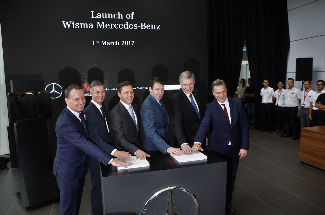 Mercedes benz commits to malaysia with new hq training for Mercedes benz financial commercial